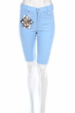 Дамски къс панталон Golfino, Размер XS, Цвят Син, 94% полиамид, 6% еластан, Цена 27,04лв.