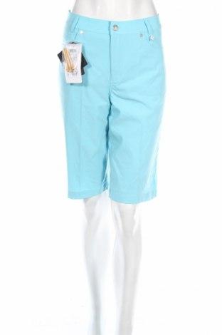 Дамски къс панталон Golfino, Размер L, Цвят Син, 94% полиамид, 6% еластан, Цена 27,04лв.