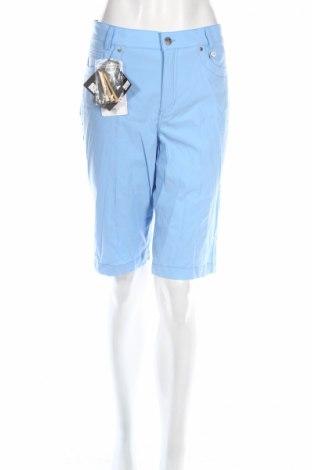 Дамски къс панталон Golfino, Размер XL, Цвят Син, 94% полиамид, 6% еластан, Цена 27,04лв.