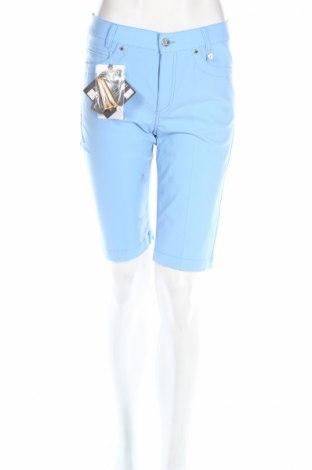 Дамски къс панталон Golfino, Размер S, Цвят Син, 94% полиамид, 6% еластан, Цена 27,04лв.