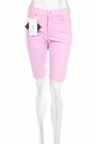 Дамски къс панталон Golfino, Размер XS, Цвят Розов, 94% полиамид, 6% еластан, Цена 27,04лв.