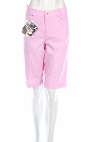 Дамски къс панталон Golfino, Размер L, Цвят Розов, 94% полиамид, 6% еластан, Цена 27,04лв.