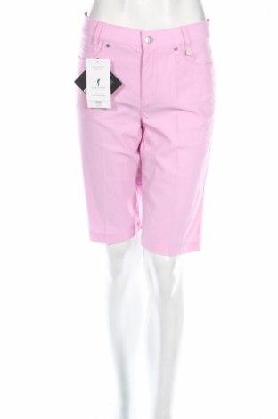 Дамски къс панталон Golfino, Размер M, Цвят Розов, 94% полиамид, 6% еластан, Цена 27,04лв.