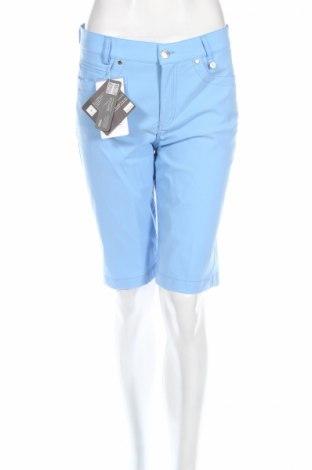 Дамски къс панталон Golfino, Размер M, Цвят Син, 96% полиамид, 4% еластан, Цена 21,84лв.