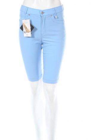 Дамски къс панталон Golfino, Размер XXS, Цвят Син, 94% полиамид, 6% еластан, Цена 22,80лв.