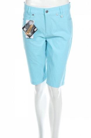 Γυναικείο κοντό παντελόνι Golfino, Μέγεθος M, Χρώμα Μπλέ, 94% πολυαμίδη, 6% ελαστάνη, Τιμή 11,11€