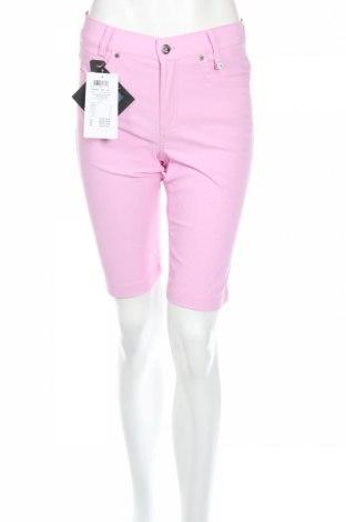 Дамски къс панталон Golfino, Размер S, Цвят Розов, 94% полиамид, 6% еластан, Цена 22,80лв.