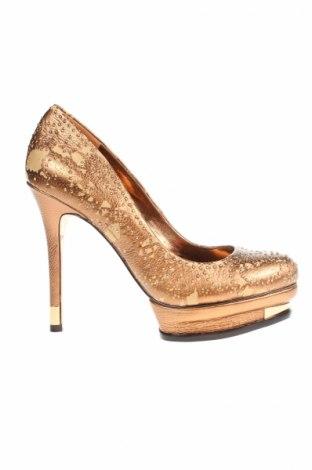Dámske topánky  BCBG Max Azria, Veľkosť 37, Farba Hnedá, Pravá koža , Cena  49,68€