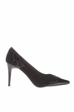Încălțăminte de damă Elizabeth Stuart, Mărime 38, Culoare Negru, Velur natural, piele naturală, Preț 80,26 Lei