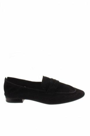 Γυναικεία παπούτσια H&M, Μέγεθος 36, Χρώμα Μαύρο, Φυσικό σουέτ, Τιμή 13,37€