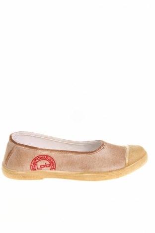 Дамски обувки Lpb Les P'tites Bombes, Размер 40, Цвят Бежов, Текстил, полиуретан, Цена 26,55лв.