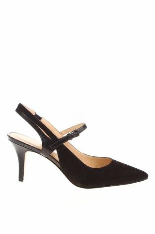Дамски обувки Nine West, Размер 40, Цвят Черен, Текстил, Цена 59,77лв.
