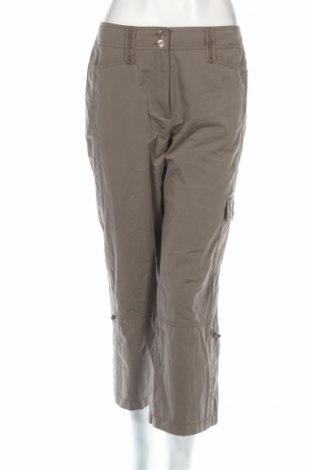 Дамски панталон Gerry Weber, Размер M, Цвят Зелен, 72% полиестер, 28% полиамид, Цена 9,76лв.