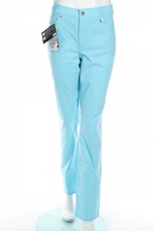 Дамски панталон Golfino, Размер L, Цвят Син, 94% полиамид, 6% еластан, Цена 26,22лв.