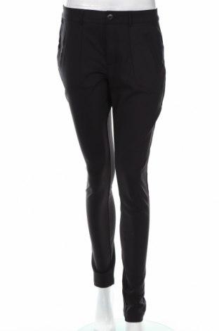 Γυναικείο παντελόνι Kaffe, Μέγεθος M, Χρώμα Μαύρο, 61% βαμβάκι, 36% πολυαμίδη, 3% ελαστάνη, Τιμή 21,78€