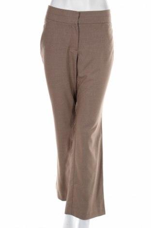 Дамски панталон Loft By Ann Taylor, Размер M, Цвят Кафяв, 67% полиестер, 31% вискоза, 2% еластан, Цена 8,63лв.