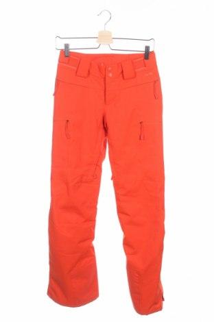 Дамски панталон за зимни спортове The North Face, Размер XS, Цвят Оранжев, 95% полиестер, 5% еластан, Цена 105,12лв.