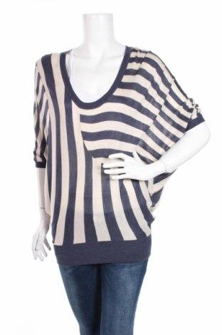 Дамски пуловер Warehouse, Размер XXS, Цвят Син, 50% акрил, 50% вискоза, Цена 6,44лв.