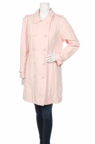 Γυναικεία καμπαρντίνα RJR John Rocha, Μέγεθος XL, Χρώμα Ρόζ , 65% βαμβάκι, 35% πολυαμίδη, Τιμή 12,73€