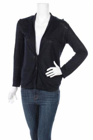 Дамско сако Allude, Размер S, Цвят Син, Лен, Цена 18,40лв.