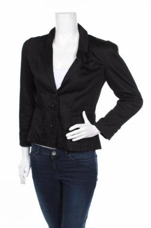Γυναικείο σακάκι H&M, Μέγεθος M, Χρώμα Μαύρο, 63% βαμβάκι, 34% πολυεστέρας, 3% ελαστάνη, Τιμή 3,56€