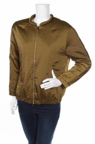 Γυναικείο μπουφάν H&M, Μέγεθος M, Χρώμα Πράσινο, 97% πολυεστέρας, 3% ελαστάνη, Τιμή 4,08€