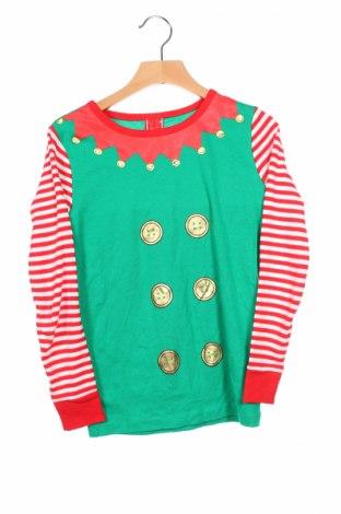 Детска блуза, Размер 9-10y/ 140-146 см, Цвят Многоцветен, Памук, Цена 13,60лв.