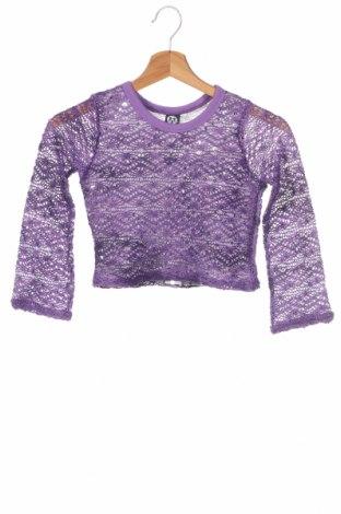 Детска блуза Here+There, Размер 6-7y/ 122-128 см, Цвят Лилав, Полиестер, Цена 4,00лв.
