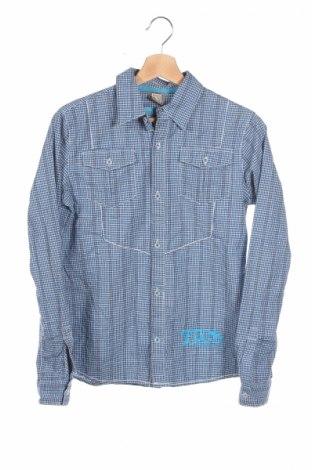 Dziecięca koszula, Rozmiar 13-14y/ 164-168 cm, Kolor Niebieski, 98% bawełna, 2% elastyna, Cena 17,46zł