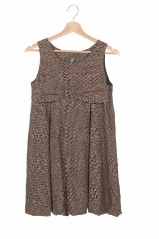 Детска рокля Zara Kids, Размер 13-14y/ 164-168 см, Цвят Кафяв, Цена 22,00лв.