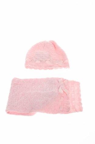 Dziecięca czapka z szalem Chicco