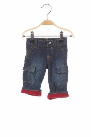 Детски дънки Gymboree, Размер 2-3m/ 56-62 см, Цвят Син, Памук, Цена 5,25лв.