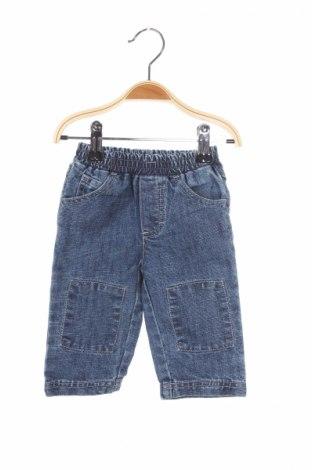 Детски дънки Little One, Размер 3-6m/ 62-68 см, Цвят Син, Памук, Цена 5,75лв.