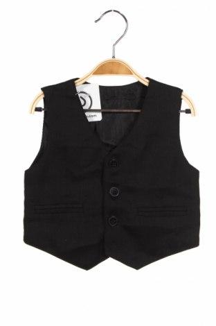 Детски елек, Размер 9-12m/ 74-80 см, Цвят Черен, Цена 4,50лв.