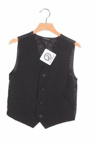 Детски елек George, Размер 6-7y/ 122-128 см, Цвят Черен, 97% полиестер, 3% вискоза, Цена 5,50лв.