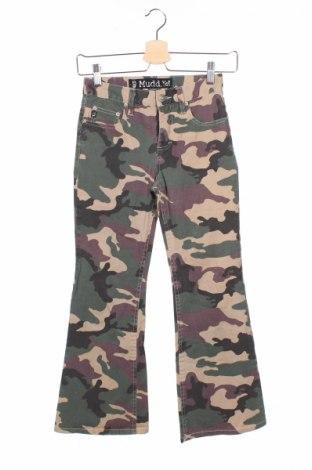 Детски панталон, Размер 9-10y/ 140-146 см, Цвят Многоцветен, 96% памук, 4% еластан, Цена 5,50лв.