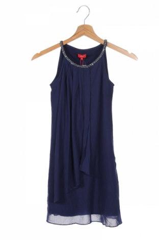Rochie de copii S.Oliver, Mărime 8-9y/ 134-140 cm, Culoare Albastru, 95% poliester, 5% elastan, Preț 72,76 Lei