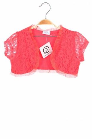 Детско болеро Breeze Girls, Размер 8-9y/ 134-140 см, Цвят Оранжев, 95% памук, 5% еластан, Цена 3,60лв.