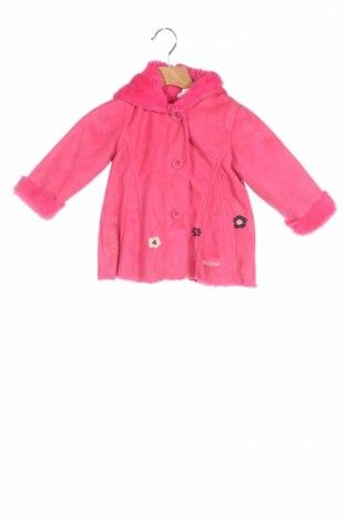 Детско палто Absorba, Размер 12-18m/ 80-86 см, Цвят Розов, Полиестер, Цена 26,65лв.