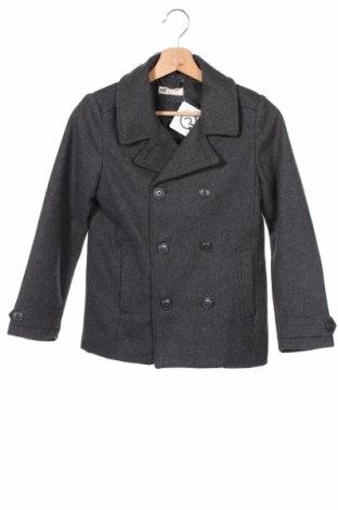 Детско палто H&M, Размер 9-10y/ 140-146 см, Цвят Сив, 56% вълна, 22% полиестер, 8% вискоза, 7% акрил, 7% други тъкани, Цена 33,28лв.