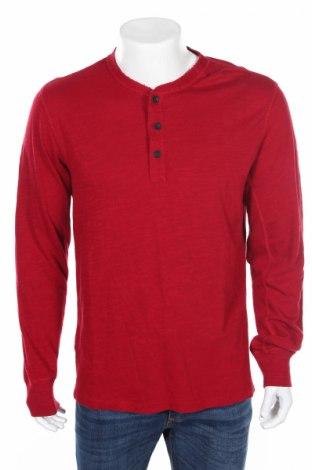 Męska bluzka Rag & Bone, Rozmiar L, Kolor Czerwony, Bawełna, Cena 115,23zł