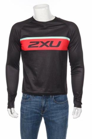 Мъжка спортна блуза 2Xu, Размер S, Цвят Черен, Полиестер, Цена 21,94лв.