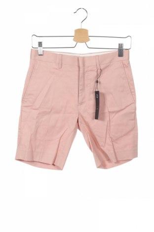 Ανδρικό κοντό παντελόνι Only & Sons, Μέγεθος S, Χρώμα Ρόζ , 97% βαμβάκι, 3% ελαστάνη, Τιμή 4,56€
