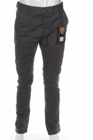 Męskie spodnie Indicode, Rozmiar M, Kolor Szary, 98% bawełna, 2% elastyna, Cena 40,73zł