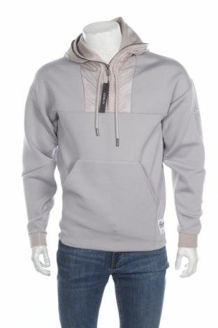 Pánska mikina  Air Jordan Nike, Veľkosť S, Farba Sivá, 47% polyester, 45% bavlna, 8% elastan, Cena  35,26€