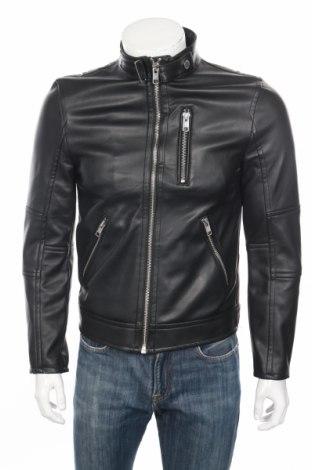 Pánska kožená bunda  H&M