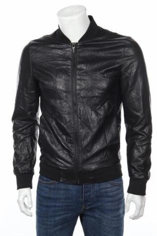 Pánska kožená bunda  Zara Man