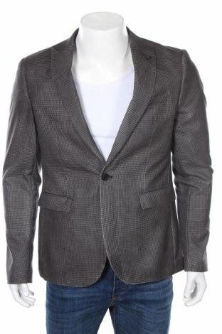 Pánske sako  Deep End, Veľkosť L, Farba Sivá, 50% polyester, 50% vlna, Cena  15,36€