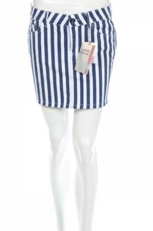 Пола Ole By Koton, Размер M, Цвят Бял, 97% памук, 3% еластан, Цена 8,32лв.