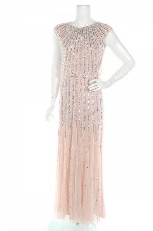 Φόρεμα Lace & Beads, Μέγεθος L, Χρώμα Ρόζ , Πολυεστέρας, Τιμή 23,07€